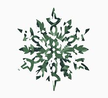 The Melting Snowflake – Dizzy Green Unisex T-Shirt