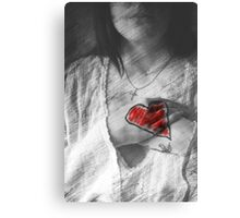 I Cannot Hide My Heart From You Canvas Print