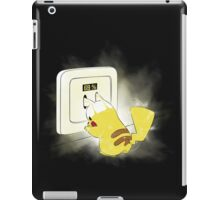 PIKA POWER UP 69 % Yellow iPad Case/Skin