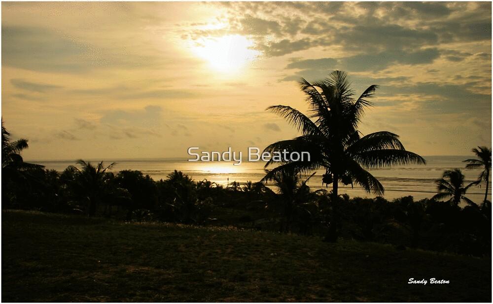 """SUNSET BARRA"" - MOZAMBIQUE by Sandy Beaton"