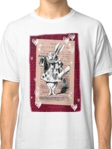 Rabbit and Hearts  Classic T-Shirt
