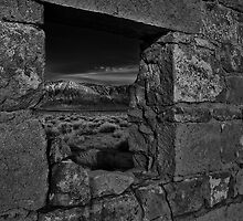 Window to Wheeler Crest by Chris Morrison