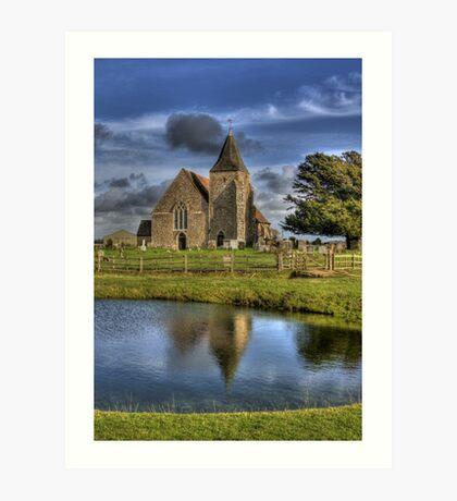 St Clements Reflection Art Print