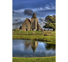 St Clements Reflection Photographic Print