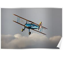 PT13-D Stearman biplane Poster