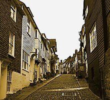 Mermaid Street, Rye by Dave Godden