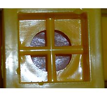 Square Peg Round Hole or what? Solved by bubblehex08 ~ Kazoo! ~ Photographic Print
