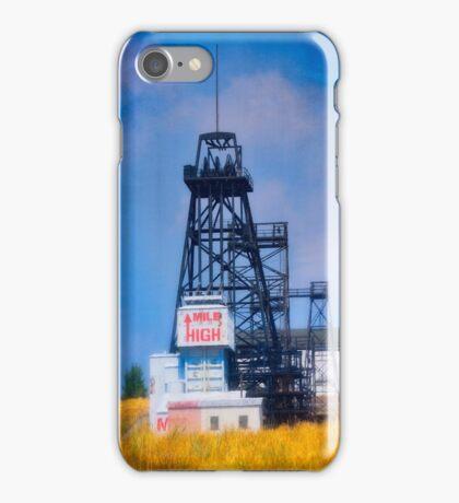 Butte Montana Headframe - Mile High iPhone Case/Skin