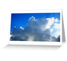Ray Clouds Greeting Card