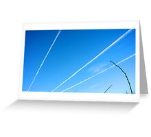 Cloud Rays Greeting Card