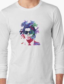 Jean-Michel Basquiat Splatter 2 Long Sleeve T-Shirt