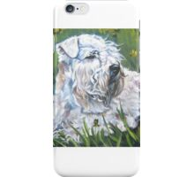 Soft-coated Wheaten Terrier Fine Art Painting iPhone Case/Skin