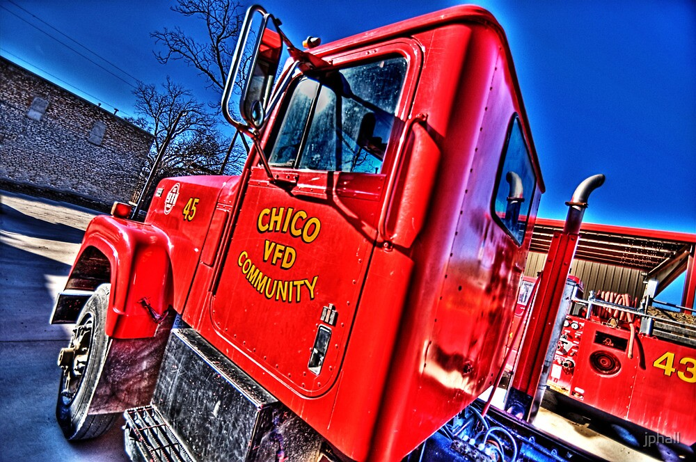 Chico, Texas - Volunteer Fire Department by jphall