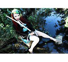 Geisha in the Pond - Kalli McCandless Photographic Print