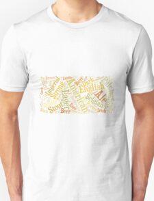 Beer Word Cloud Rectangle T-Shirt