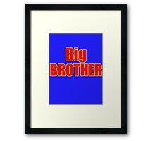 Big Brother Kids Clothing - T-Shirt Framed Print