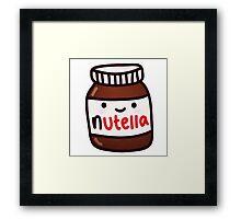 nutella cute Framed Print