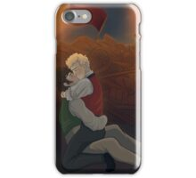 At The Barricade iPhone Case/Skin