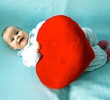 Valentine baby by aginia