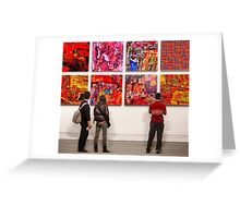 Eight Artworks Greeting Card
