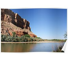 San Juan River in Bluff, Utah Poster