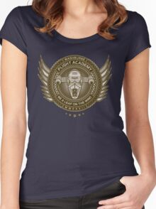 On the Wind Women's Fitted Scoop T-Shirt