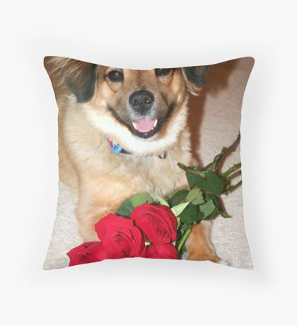 Will you be my Valentine? Throw Pillow