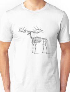 Elk Skeleton Fossil T Shirt Unisex T-Shirt