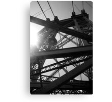 Sunny, Sunny Williamsburg Canvas Print