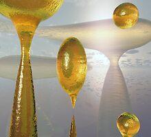 Golden Globs by Ostar-Digital
