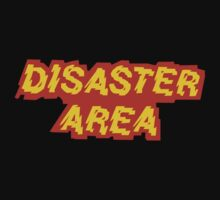 Disaster Area band t-shirt by Cristina S