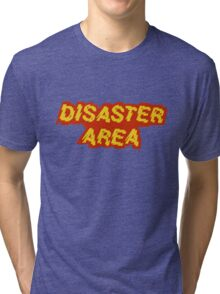 Disaster Area band t-shirt Tri-blend T-Shirt