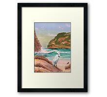 Ocean Inlet Framed Print