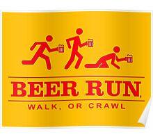 Beer Run Poster