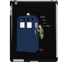 HE WILL KNOCK 4 TIME v2 iPad Case/Skin
