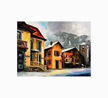 Switzerland - Town in The Alps Classic T-Shirt