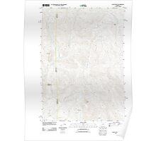USGS Topo Map Oregon Castle Rock 20110908 TM Poster