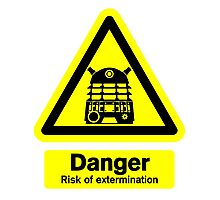 Dalek Danger! Photographic Print