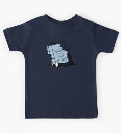 Book about nice things - Victorian illustration Kids Tee