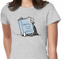 Book about nice things - Victorian illustration Womens Fitted T-Shirt