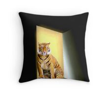 Waiting & Expecting Throw Pillow
