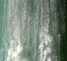 Frozen Waterfall by Christopher Herrfurth