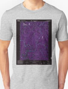 USGS Topo Map California Polar Bear Mountain 101830 1996 24000 Inverted T-Shirt