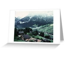 Swiss Villages Greeting Card