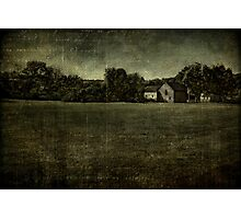Field in Old Bethpage Village Photographic Print