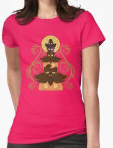 Pumpkaboo tower Womens Fitted T-Shirt