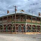 Australian Country Pub, Mirrool, NSW   by Adrian Paul