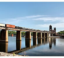Trestle on the River Photographic Print