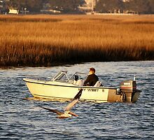 Boating in Murrells Inlet by Paulette1021