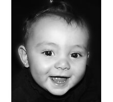 when an angel smiles Photographic Print